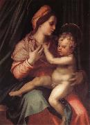 Andrea del Sarto Virgin Mary and her son oil painting picture wholesale